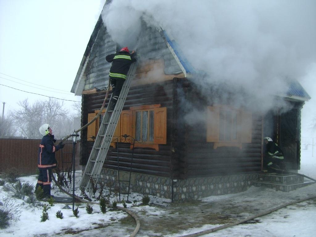 Пожар в садовом доме в городском округе Чехов