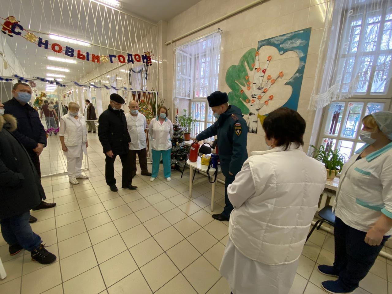 В психиатрической клинической больнице № 5  Чехова проведены учения