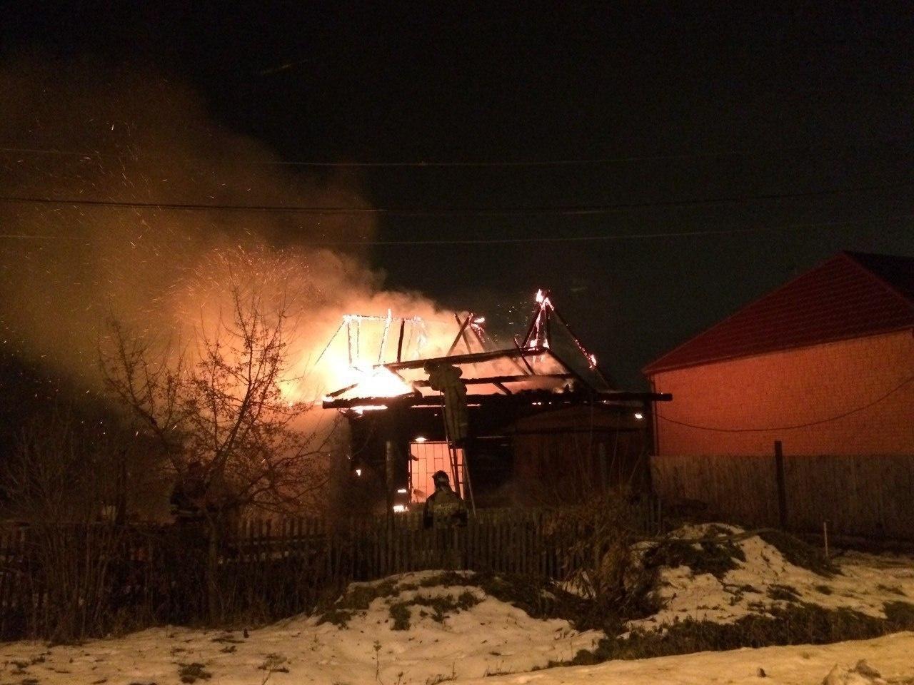 Пожар в садовом доме в городском округе Клин