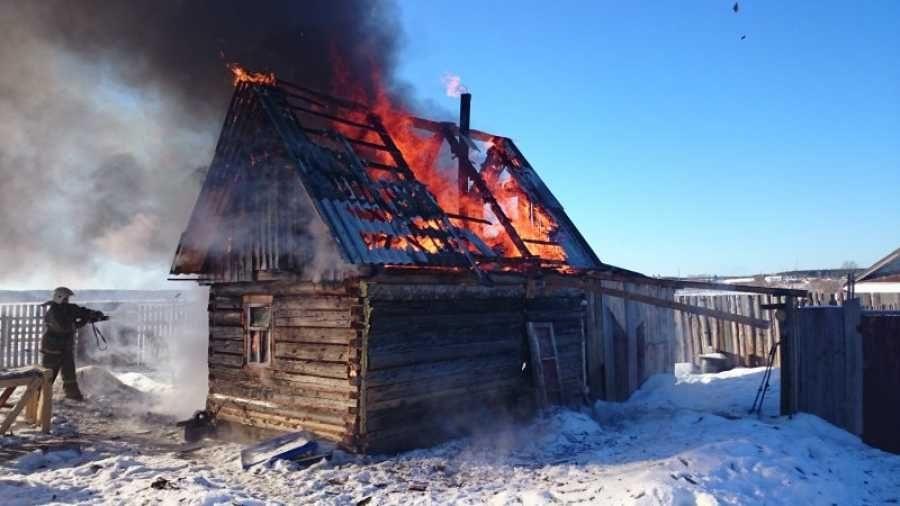 Пожар в хозяйственной постройке в городском округе Щелково