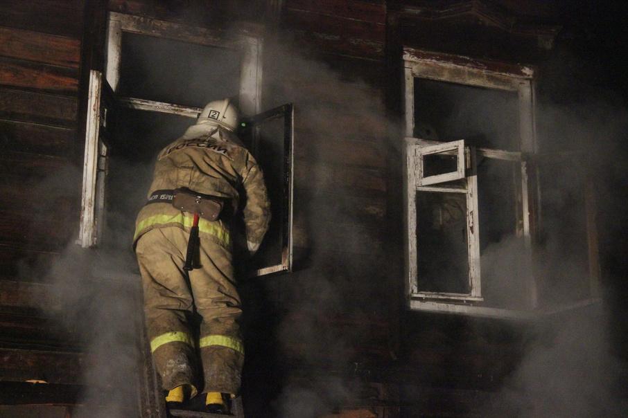 Пожар в садовом доме в городском округе Сергиев Посад