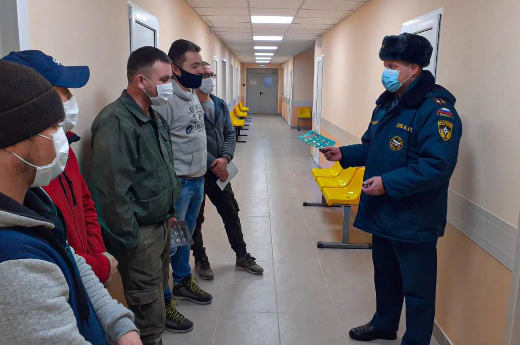 Противопожарный инструктаж проведен в городской больнице Протвино