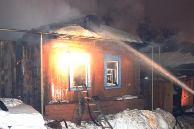 Пожар в садовом доме в городском округе Раменское
