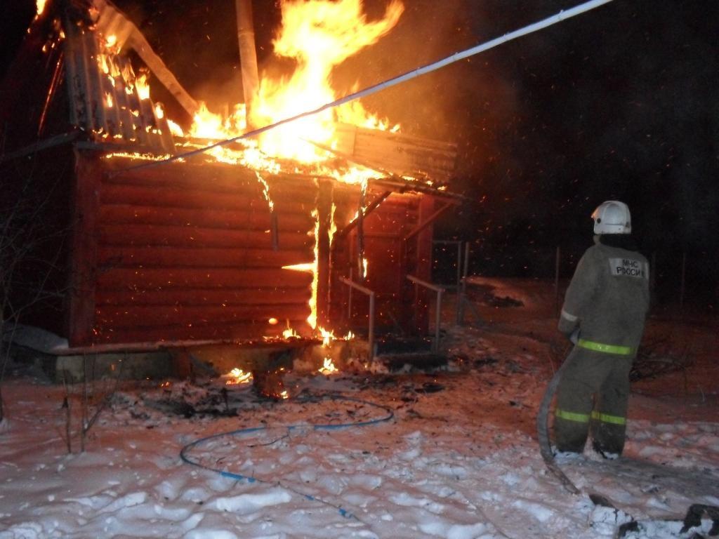 Пожар в нежилом здании в городском округе Ленинский