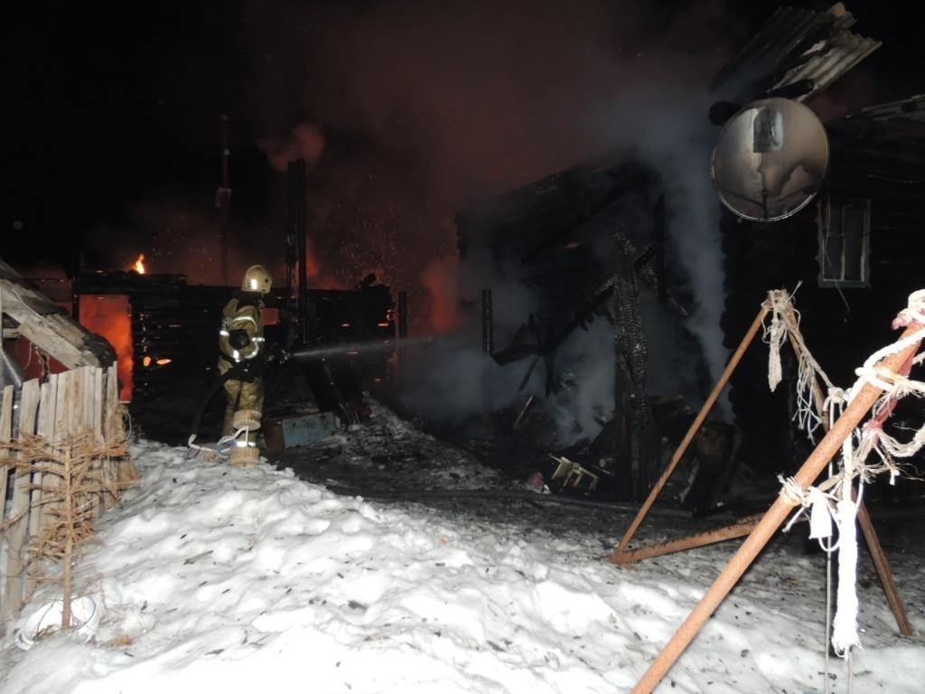 Пожар в нежилом здании в городском округе Богородский