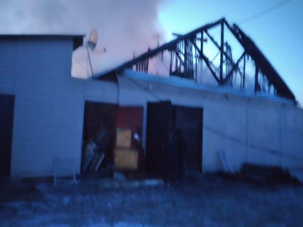 Пожар в хозяйственной постройке в городском округе Дзержинский
