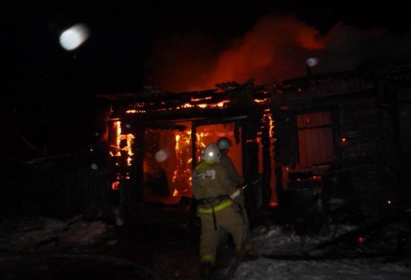 Пожар в садовом доме в городском округе Наро-Фоминск