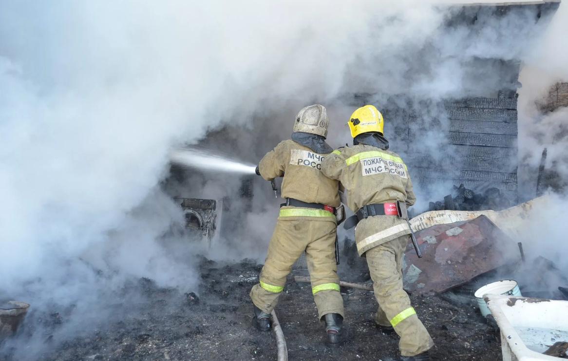Пожар в жилом доме в городском округе Богородское