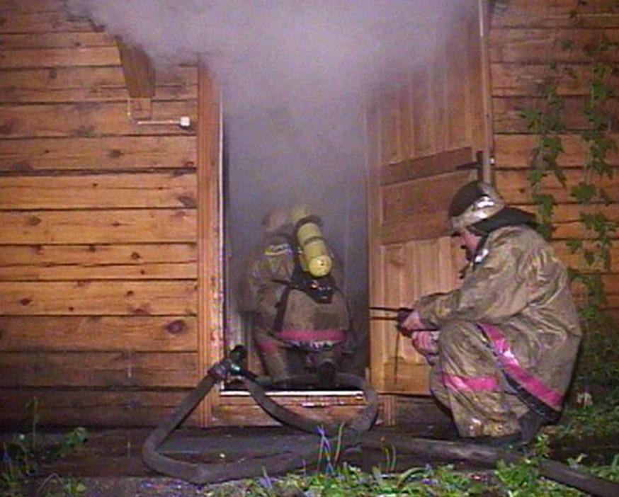 Пожар в хозяйственной постройке в городском округе Можайск