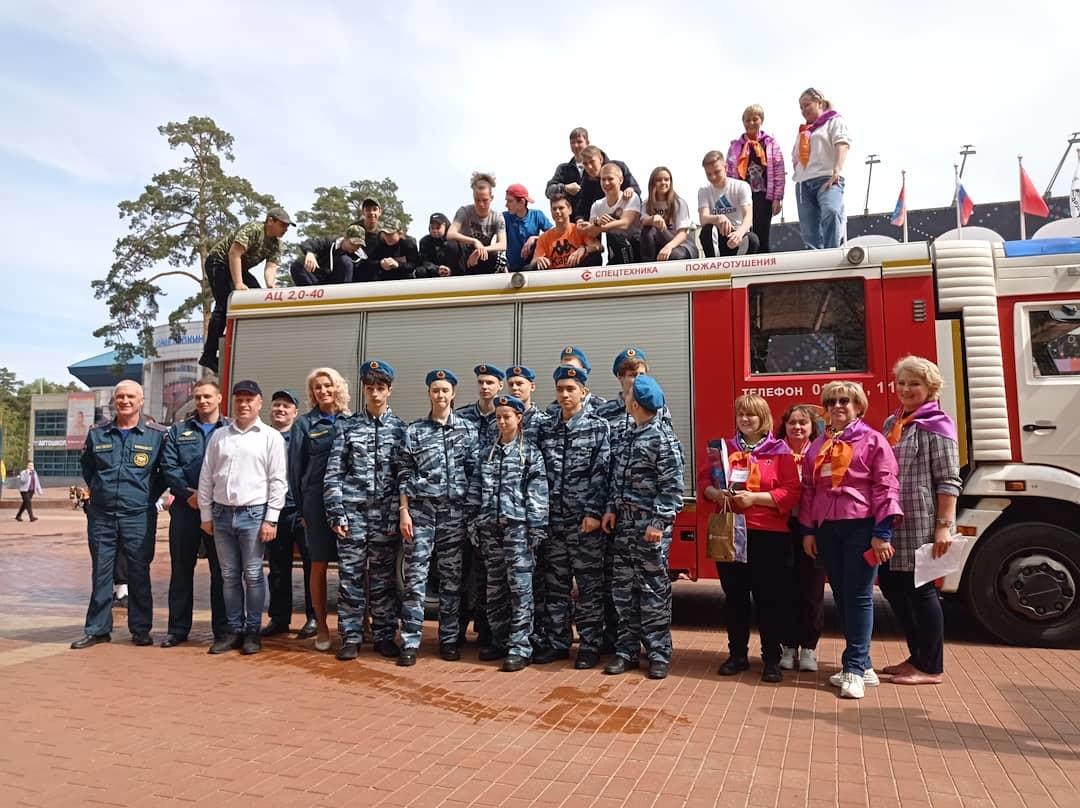 В Подмосковье прошел муниципальный этап областного слета дружин юных пожарных