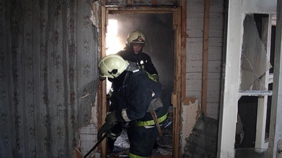 Пожар в квартире в городском округе Серпухов