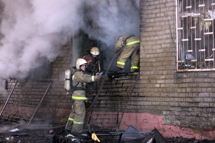 Пожар в квартире в городском округе Электросталь