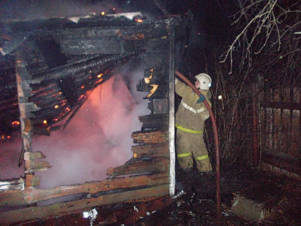Пожар в жилом доме в городском округе Дубна