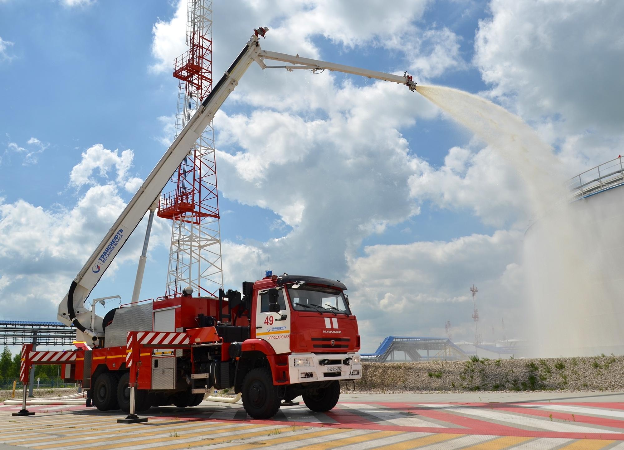 Плановые пожарные учения проведена на станции «Володарская» Володарского РНПУ АО «Транснефть-Верхняя Волга»