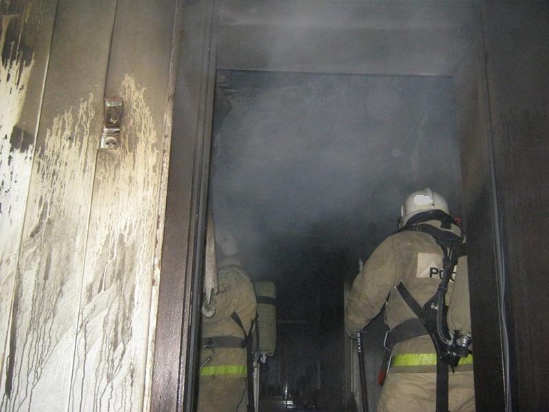 Пожар в квартире в городском округе Можайск