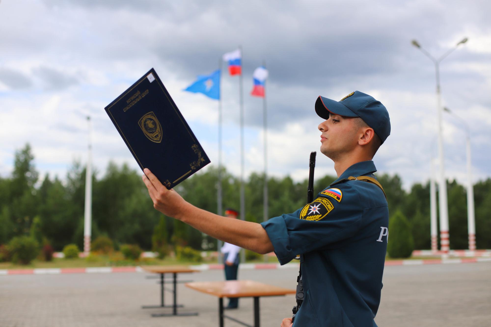 Церемония принятия военной присяги