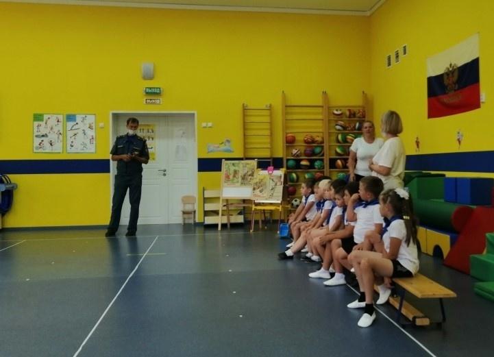 Праздник пожарной безопасности прошел в детском саду в Луховицах