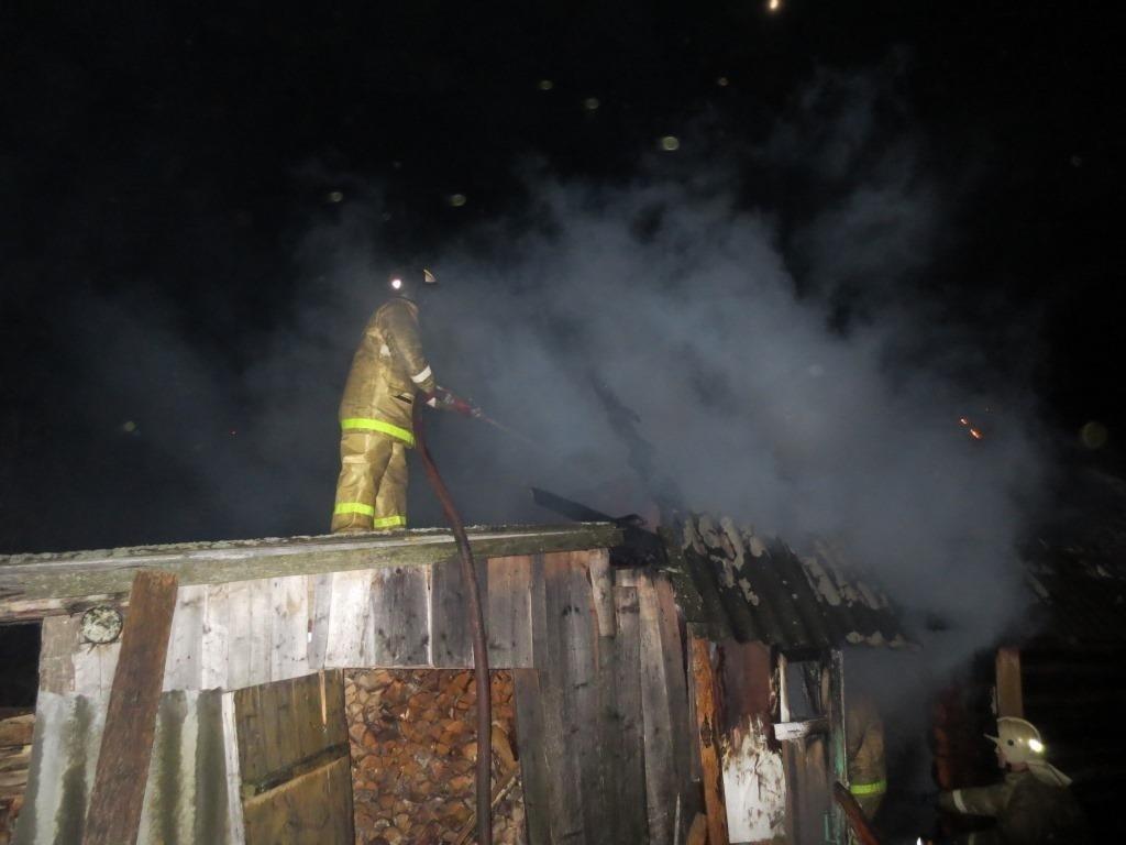 Пожар в садовом доме в городском округе Егорьевск