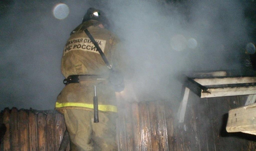 Пожар в нежилом здании в городском округе Егорьевск