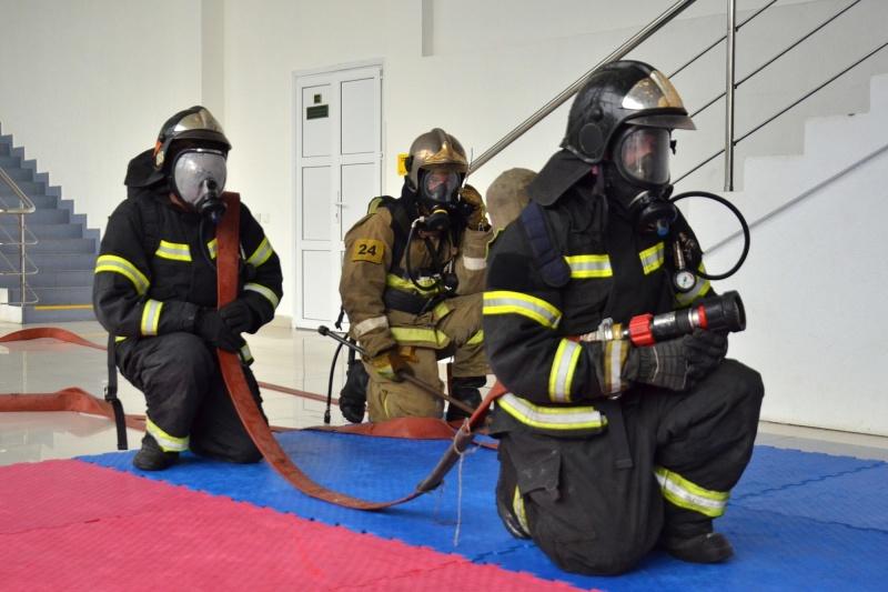 Пожарно-тактические учения проведены в ФОК Ивантеевки