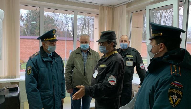 В Домодедове сотрудники МЧС провели учения в психоневрологическом интернате